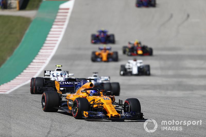 Abandon : Fernando Alonso (McLaren)