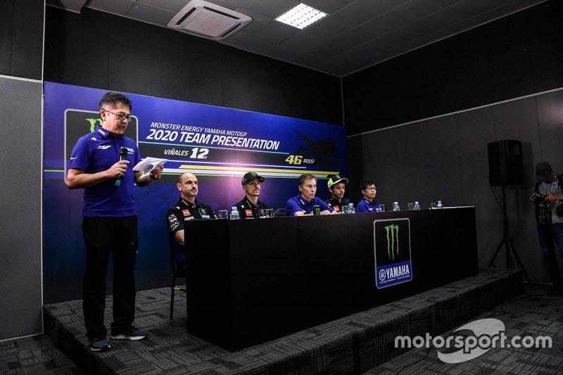 Teampresentatie Yamaha Factory Racing