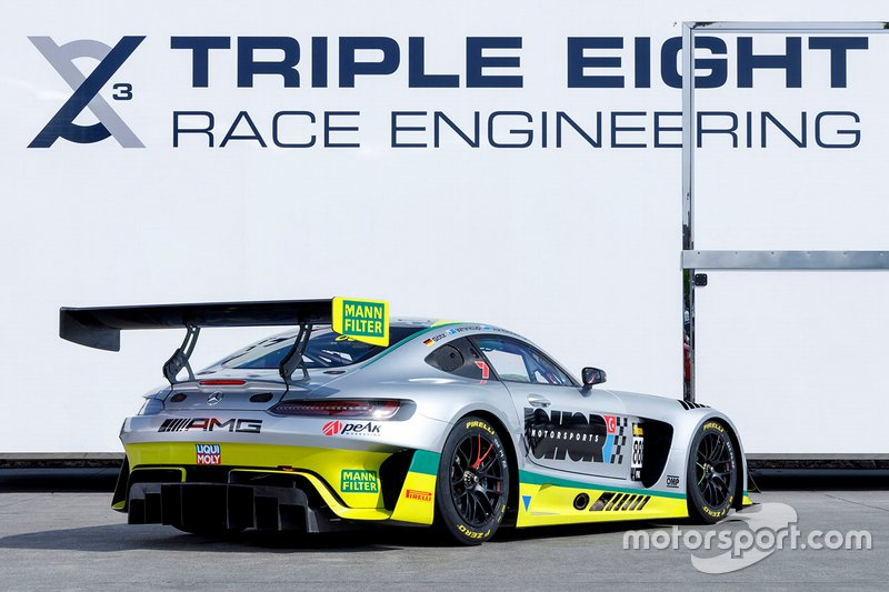 Triple Eight Race Engineering Mercedes Bathurst unveil