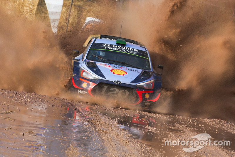 Хейден Пэддон и Себастьян Маршалл, Hyundai Motorsport Hyundai i20 Coupe WRC