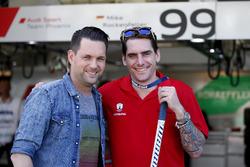 Matthias Killing, Sat1-TV con Constantin Braun, giocatore di Hockey dell'Eisbären Berlin