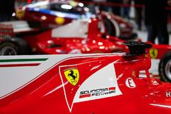 Ferrari SF70H allo stand Ferrari Feature