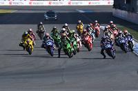 Aksi start race SuperSports 600cc