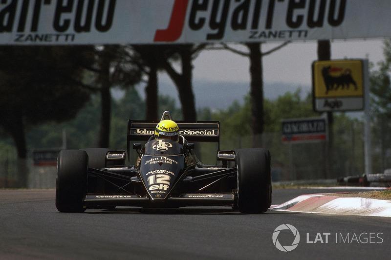 San Marino 1985: Ayrton Senna, Lotus 97T
