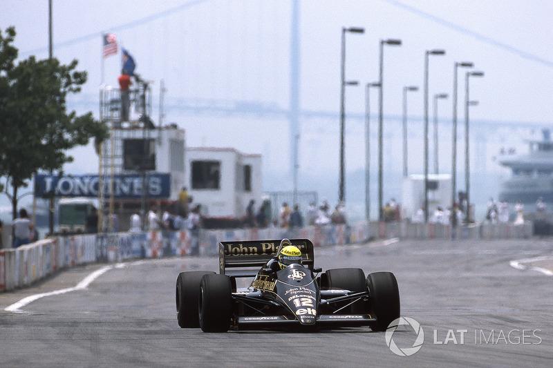 1986 Amerika: Lotus 98T