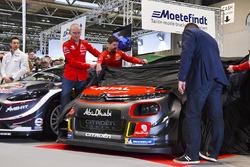 The Citroen WRC team, including Kris Meeke, Craig Breen and Yves Matton