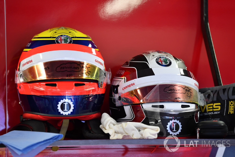 Helmets of Charles Leclerc, Sauber