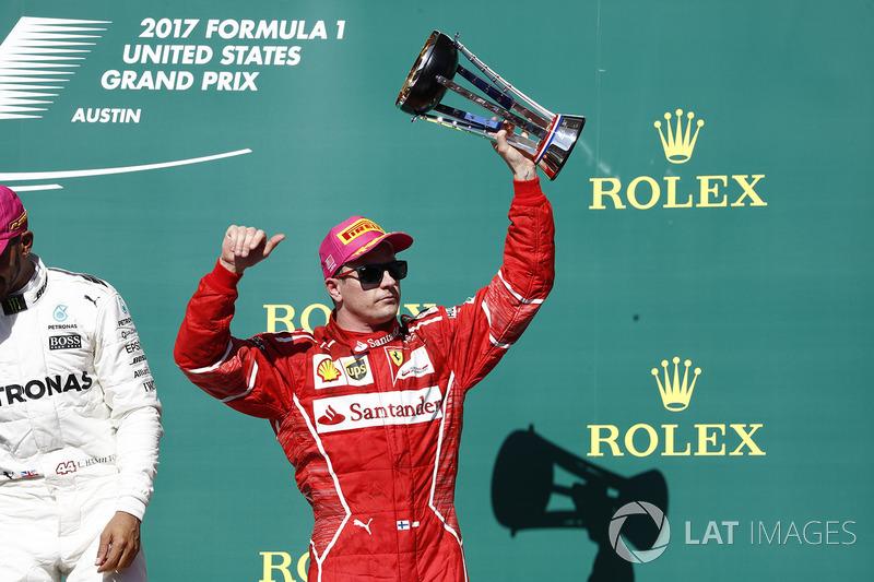 Tercer lugar, Kimi Raikkonen, Ferrari