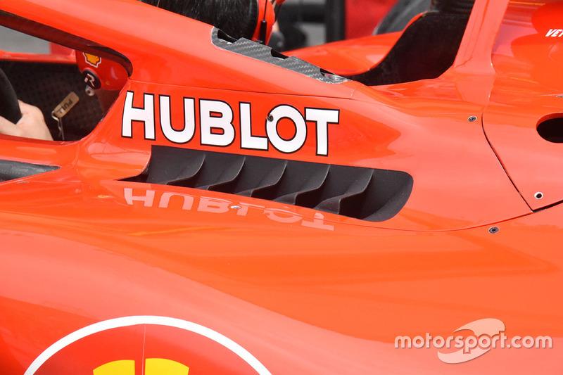 Détails de la Ferrari SF71H