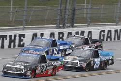 Ben Rhodes, ThorSport Racing Toyota, Parker Kligerman, Henderson Motorsports Toyota