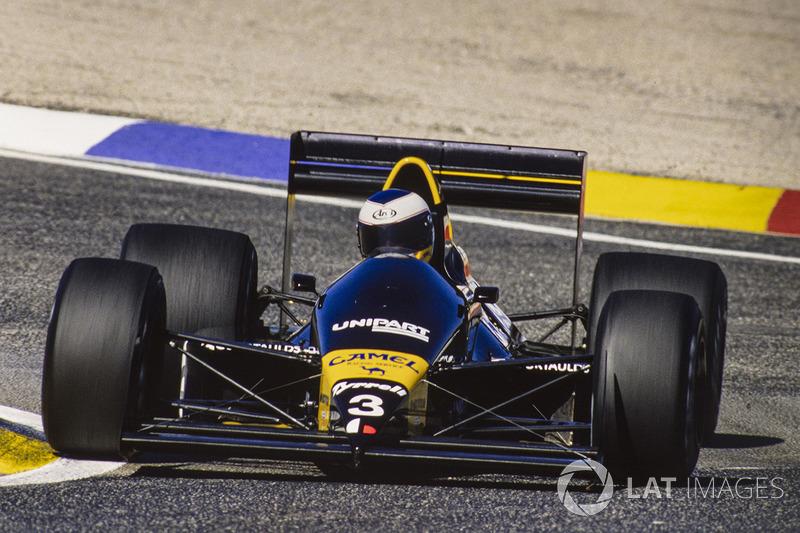 Джонатан Палмер, Tyrrell 017 Ford (5 очков)