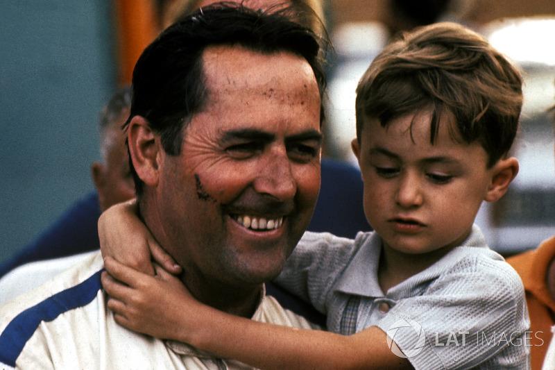 20º Jack Brabham (6 victorias desde la pole) (el 46'15 % de sus victorias)