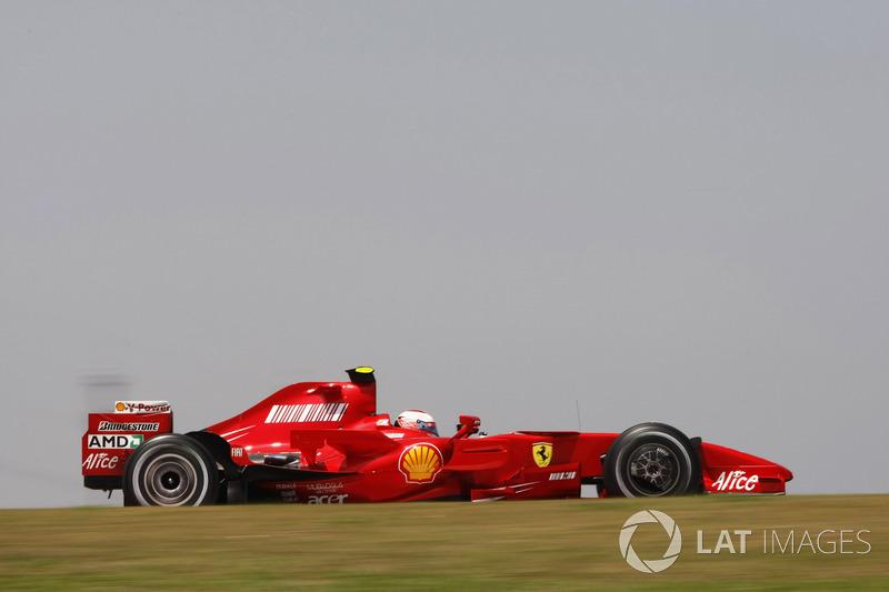 2007: Kimi Räikkönen, Ferrari F2007