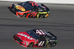 Kurt Busch, Stewart-Haas Racing Ford Fusion Martin Truex Jr., Furniture Row Racing Toyota