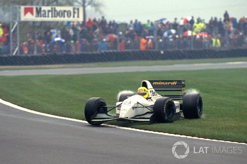 Christian Fittipaldi, Minardi Cosworth M193