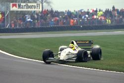 Dreher: Christian Fittipaldi, Minardi M193