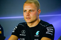 Valtteri Bottas, Mercedes AMG F1, in the drivers press conference