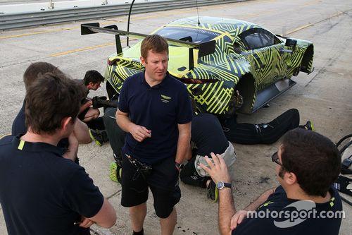 Essais Aston Martin Racing à Sebring