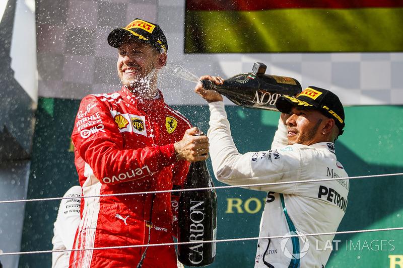 GP de Hungría: la lluvia retrasa a Vettel en parrilla