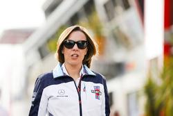 Claire Williams, subdirectora del equipo, Williams Martini Racing