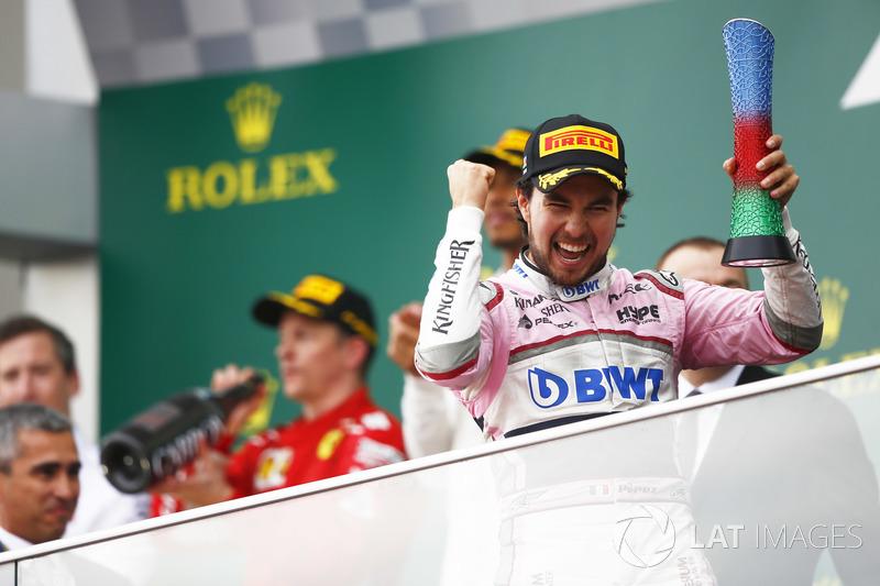 Podium ketiga, Sergio Perez, Force India
