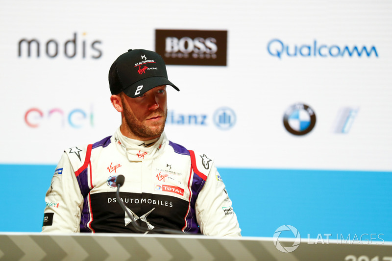 Sam Bird, DS Virgin Racing, in the post race press conference