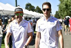 Fernando Alonso, McLaren and Stoffel Vandoorne, McLaren