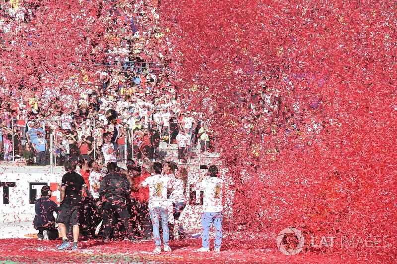 Worldchampion Marc Marquez, Repsol Honda Team celebrate