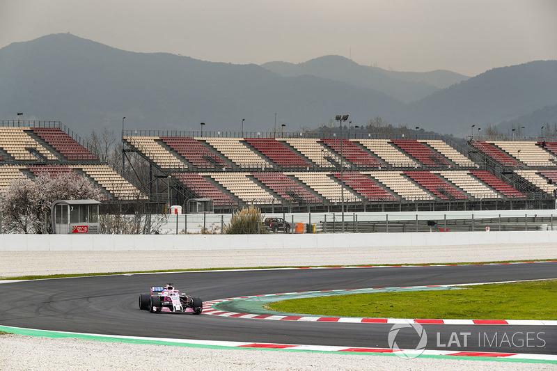 Nikita Mazepin, Force India VJM11 Mercedes