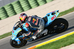 Vitantonio Liuzzi auf der MotoGP-Suzuki