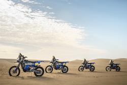 Yamaha WR450F Rally motos, Yamaha Official Rally Team