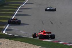 Valtteri Bottas, Mercedes AMG F1 W09, Max Verstappen, Red Bull Racing RB14 Tag Heuer, and Kimi Raikkonen, Ferrari SF71H