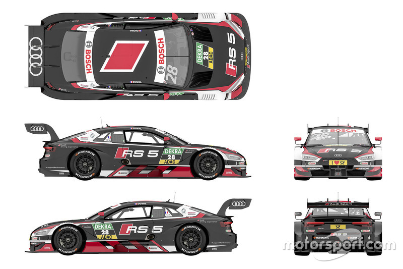 Лоїк Дюваль, Audi Sport Team Phoenix Audi RS5 DTM