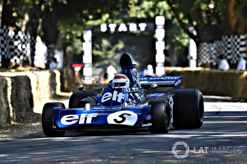 Jackie Stewart Tyrrell 006