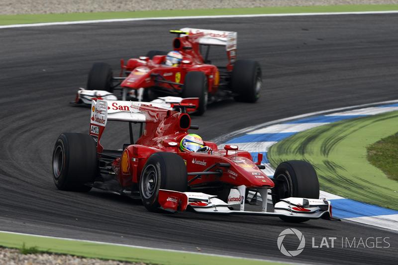 2010: Ferrari F10 (пять побед, 3-е место в КК)