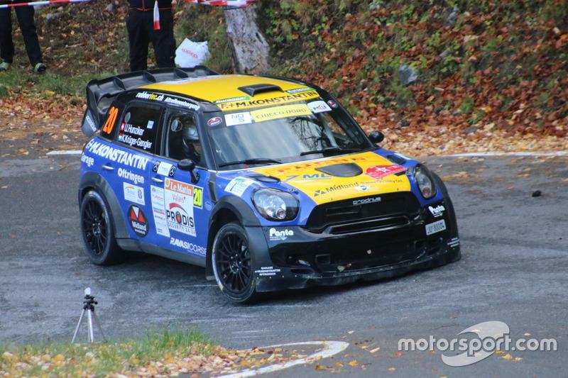 Urs Hunziker, Ken Kruger-Gengler, Mini Cooper WRC, Team Rallye Top