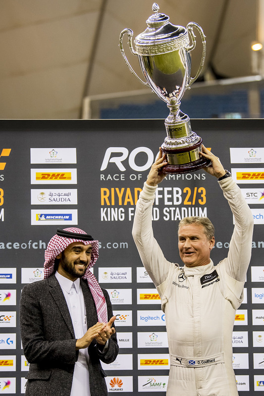 Ganador David Coulthard