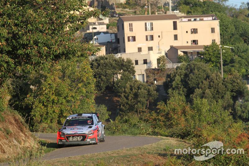 Thierry Neuville, Nicolas Gilsoul, Hyundai New i20 WRC, Hyundai Motorsport