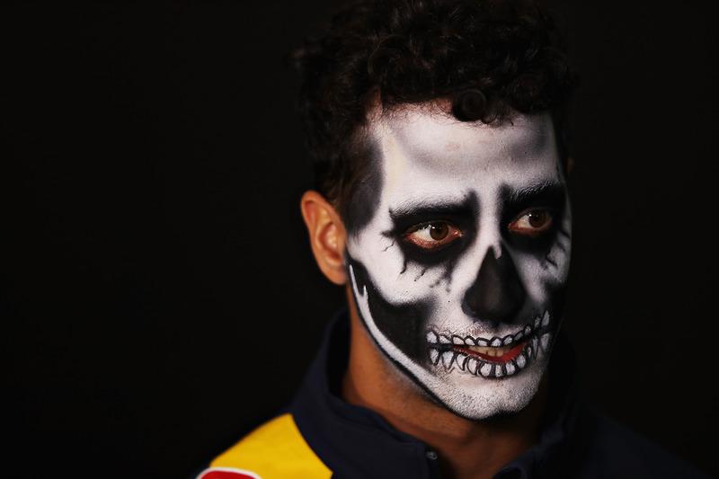 دانيال ريكاردو، ريد بُل ورسومات على وجهه