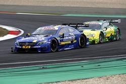 Gary Paffett, Mercedes-AMG Team ART, Mercedes-AMG C63 DTM and  Mike Rockenfeller, Audi Sport Team Phoenix, Audi RS 5 DTM