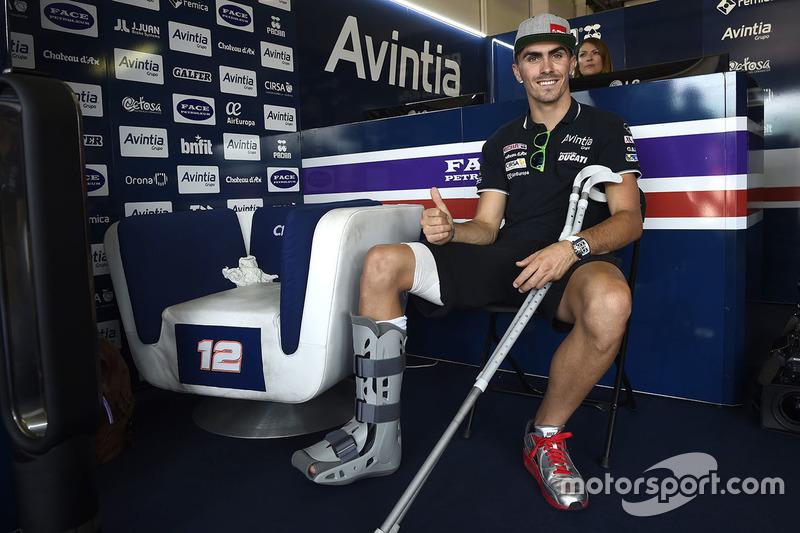 Retour en MotoGP pour Baz...