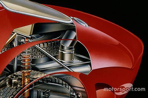 Ferrari 250 GTO tekeningen