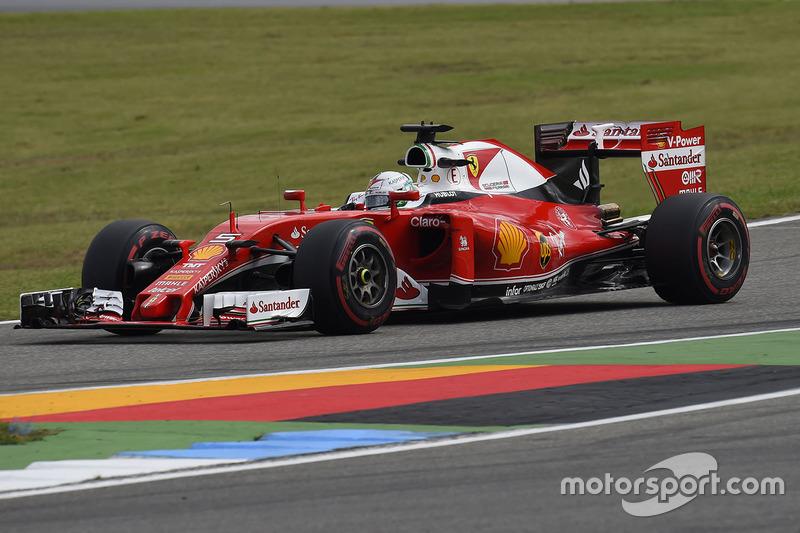 5. Sebastian Vettel, Ferrari
