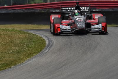 IndyCar-Test in Mid-Ohio, Juli