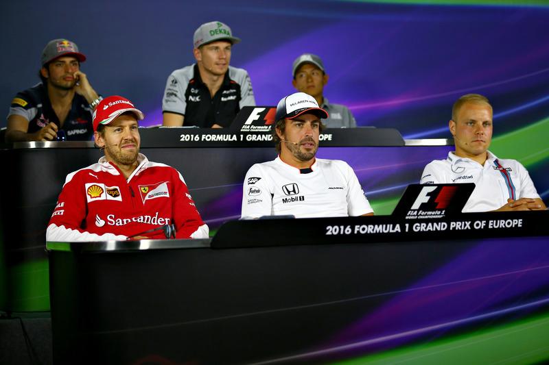 Conferencia de prensa Carlos Sainz Jr., Scuderia Toro Rosso