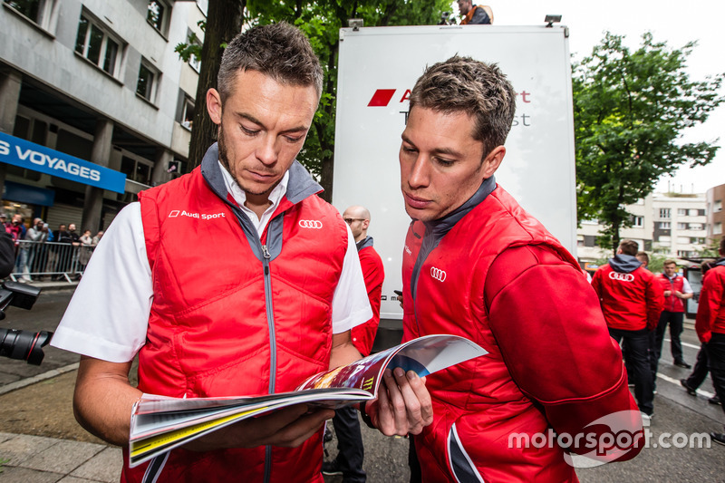 Audi Sport Team Joest Audi R18: Андре Лоттерер і Лоік Дюваль