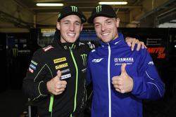 Pol Espargaró and Alex Lowes, Tech 3 Yamaha