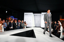 Rio Haryanto, Manor Racing at the Amber Lounge Fashion Show.