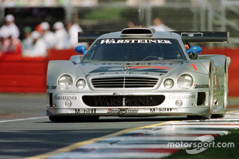 1998: GT-WM mit dem Mercedes CLK