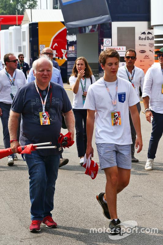 Norbert Vettel, with his son Fabian Vettel